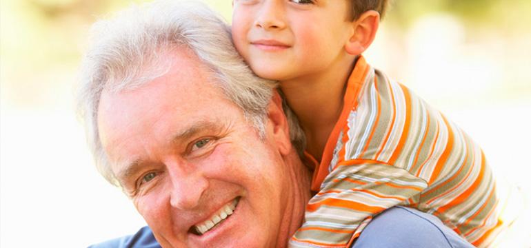 Ser pai é bom, mas ser avô, eeee coisa boa!!!