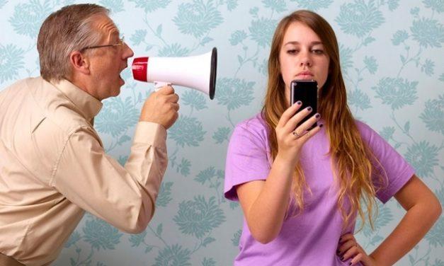 Converse com seu filho adolescente