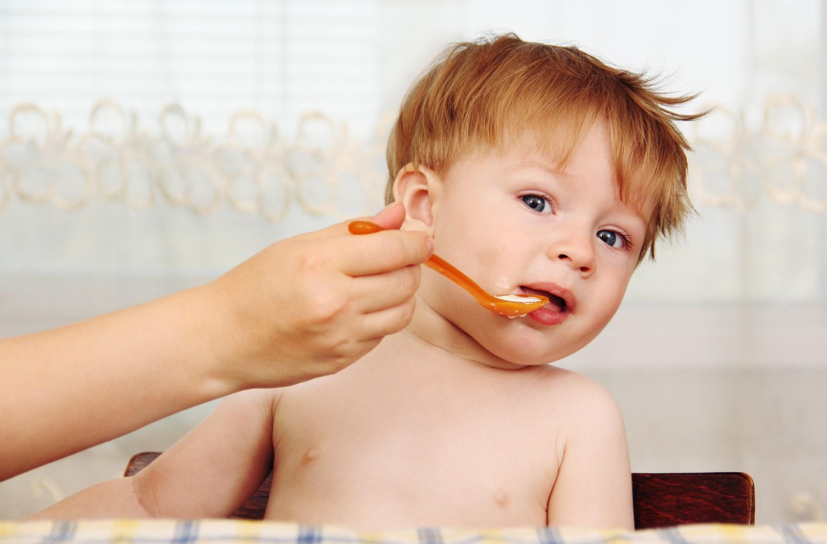 não force seu filho a comer