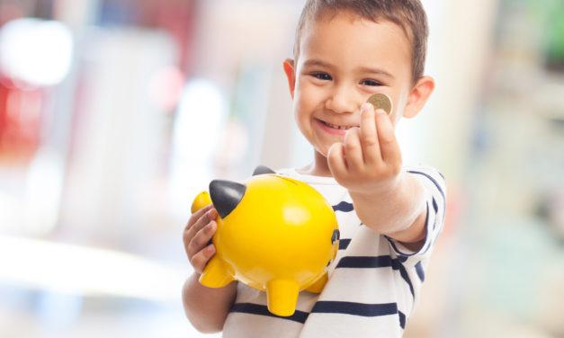 Como ensinar o valor do dinheiro para as crianças